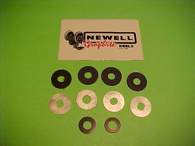 NEWELL DW3 Stainless Steel Drag Washer Set Fits 200 300 /& 400 Series /& PENN 500