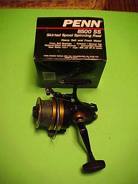 Penn 8500SS Spinning Fishing Reel for Parts 8500 USA Made Saltwater for sale online