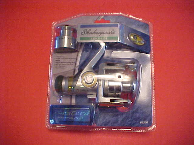 SHAKESPEARE CATERA SPINNING REEL, NEW