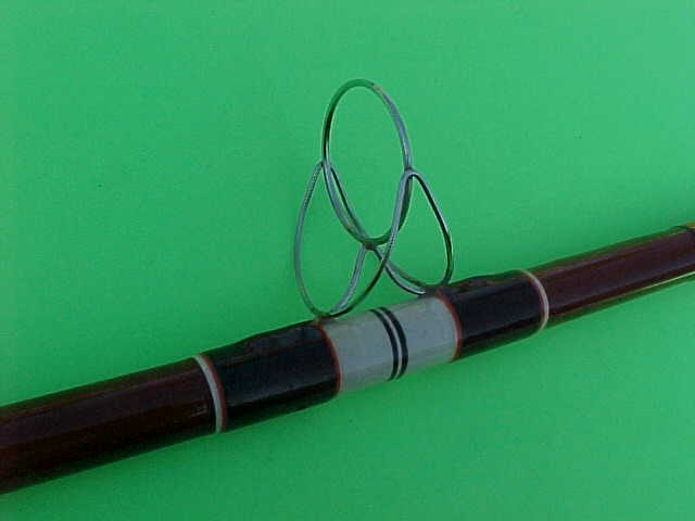 Vintage Custom Wrapped Truline 11 Foot 15 50 Two Piece Spinning Surf Rod Berinson Tackle Company